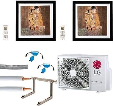 Aire Acondicionado Juego completo multisplit LG Gallery pared ...