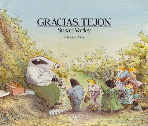 Gracias Tejon/Badger's Parting Gifts (Spanish Edition)