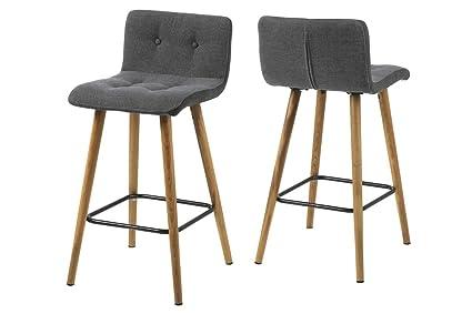 Ac design furniture set di sgabelli alti charlotte