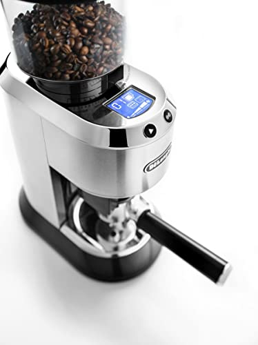 DeLonghi-America-KG521-De'Longhi-Dedica-Conical-Burr-Grinder-with-Portafilter-Attachment