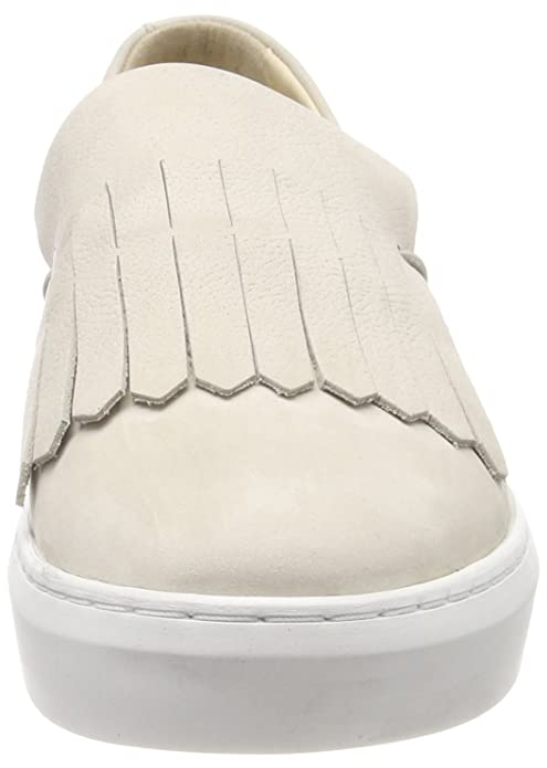 Filippa K Damen Ally Slip-on Shoe Sneaker, Beige (Bone Nubuc 7770), 39 EU