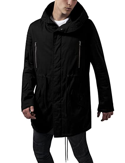 RERE herren Winter Mantel Mit Kapuze Casual Luxury
