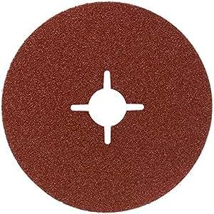 Bosch 2 608 606 919  - Disco lijador de fibra - 100 x 16 mm, 80 (pack de 1)