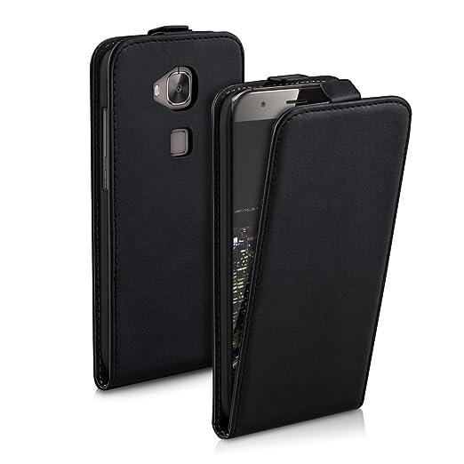 3 opinioni per kwmobile Custodia per Huawei G8 / GX8- Cover per cellulare in simil pelle- Case
