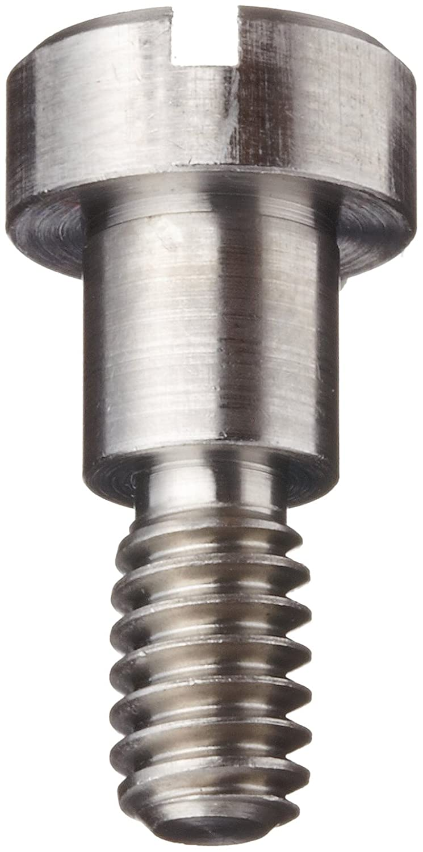 #10-32 UNF Threads Slotted Drive Tolerance 1//4 Shoulder Diameter 416 Stainless Steel Shoulder Screw Pack of 5 1//8 Shoulder Length Plain Finish