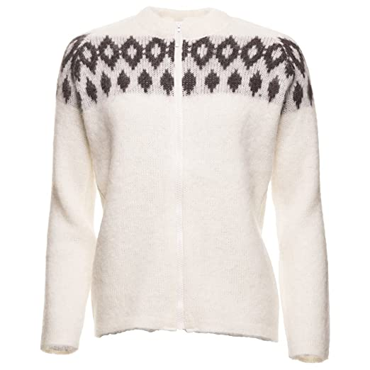 Icewear Hildur Women's Icelandic Wool Zip-through Sweater at ...