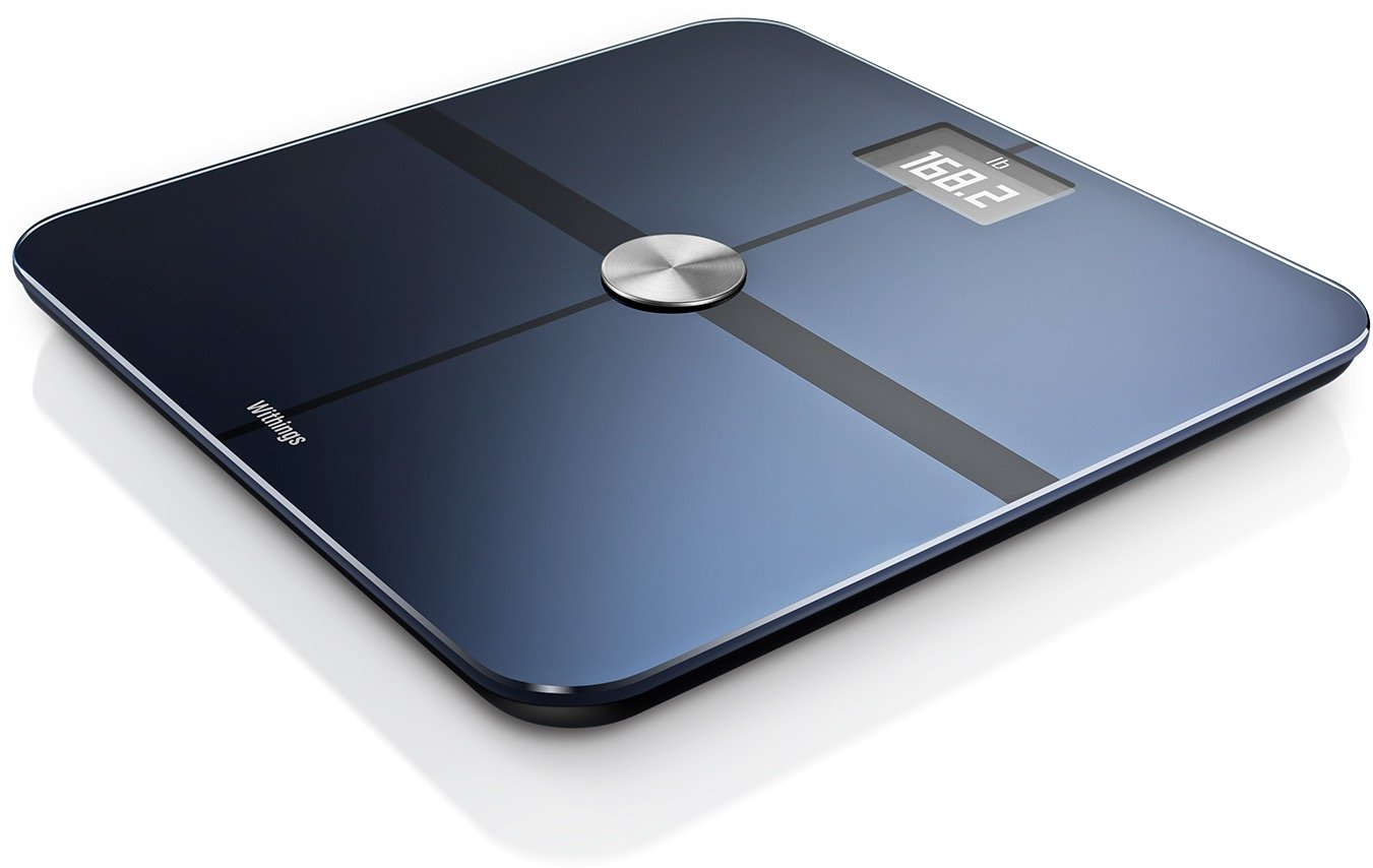 Withings / Nokia | Body - Smart Body Composition Wi-Fi Ditial Scale with smartphone app, Black by Withings