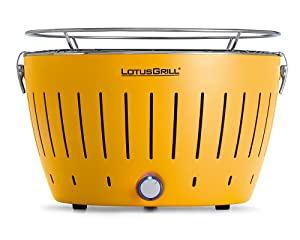 LotusGrill Corn Yellow Smokeless Charcoal Grill