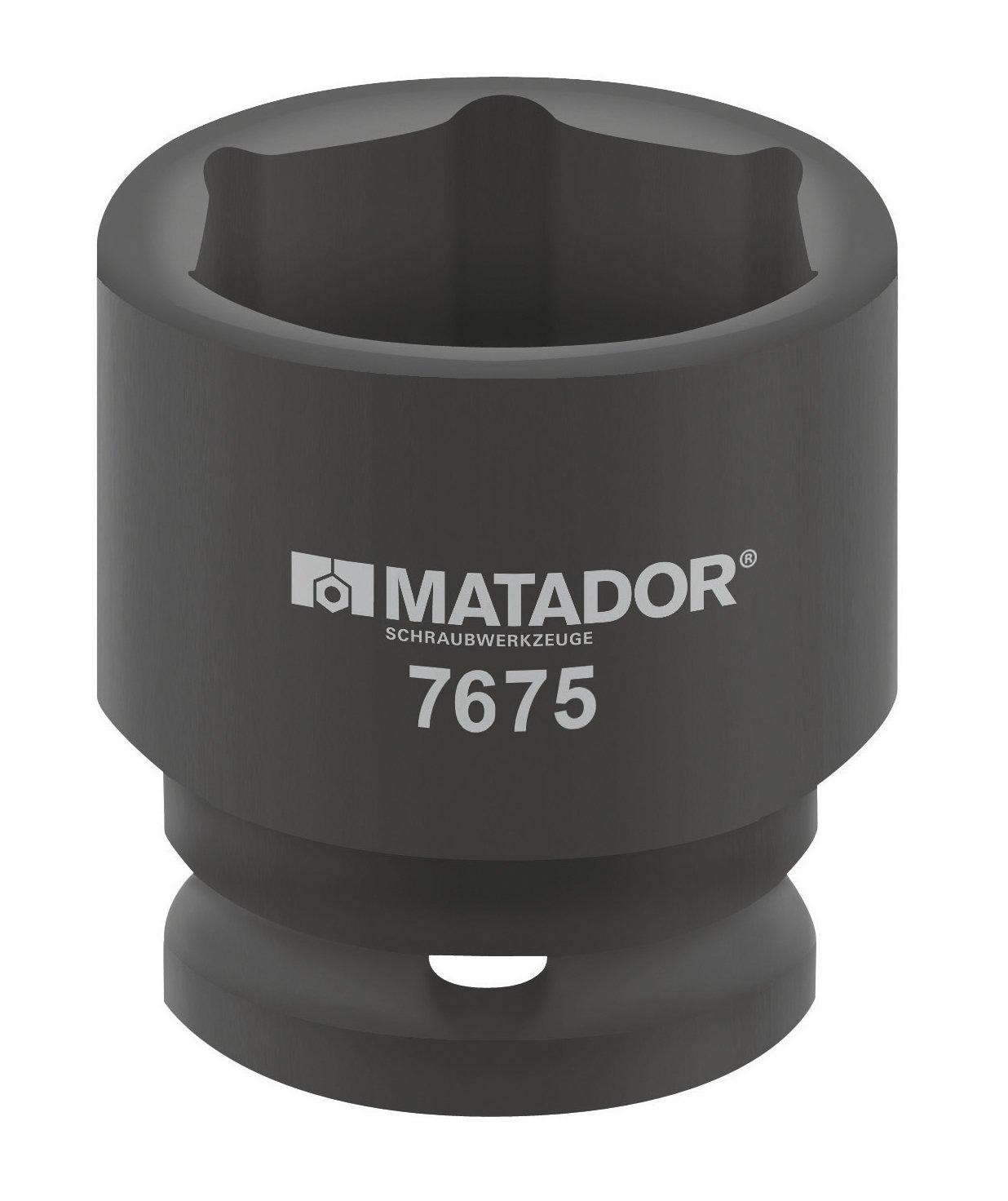 Juego de llaves de vaso m/étricas MATADOR 7675 0340 34mm