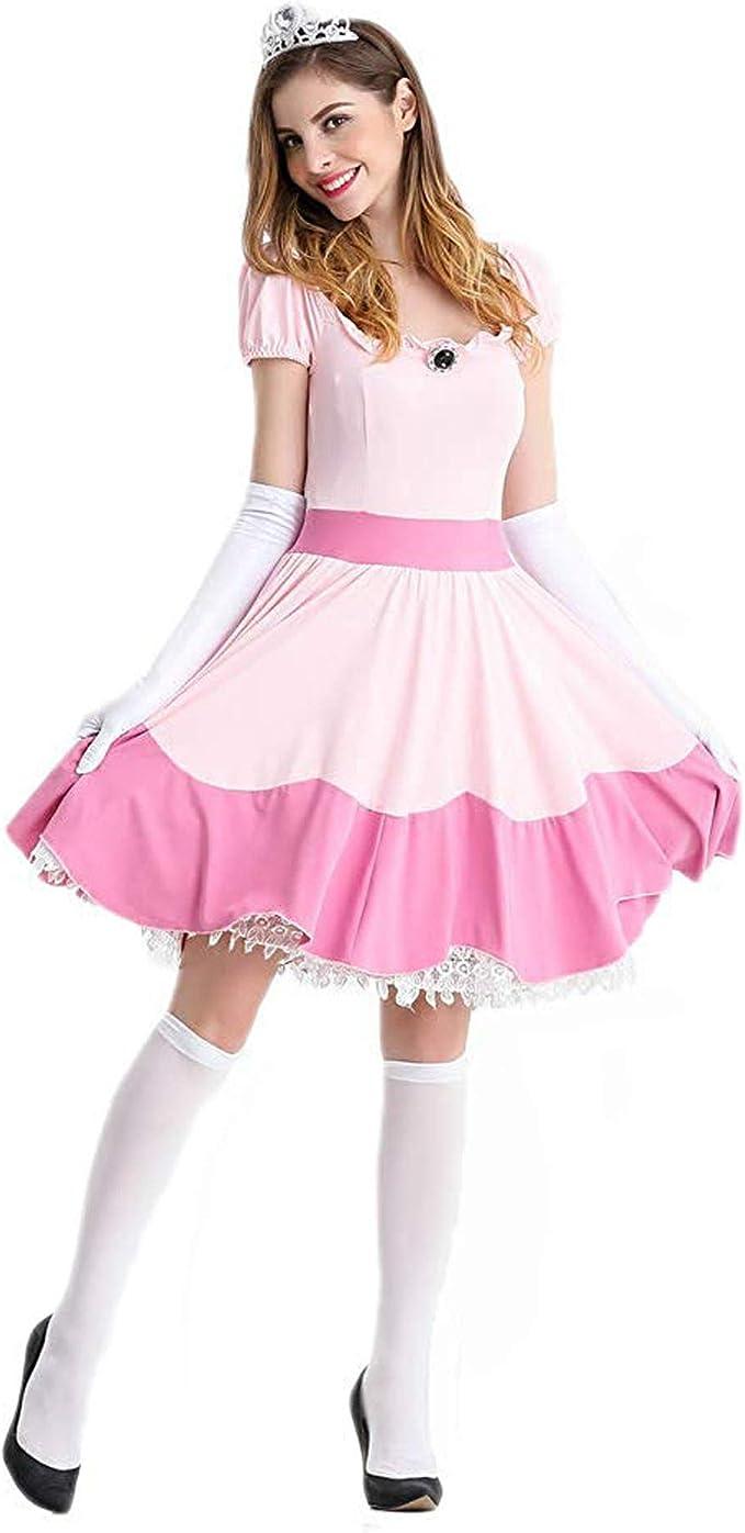 XCJLW Disfraz de Princesa de melocotón para Adultos, Disfraz de ...
