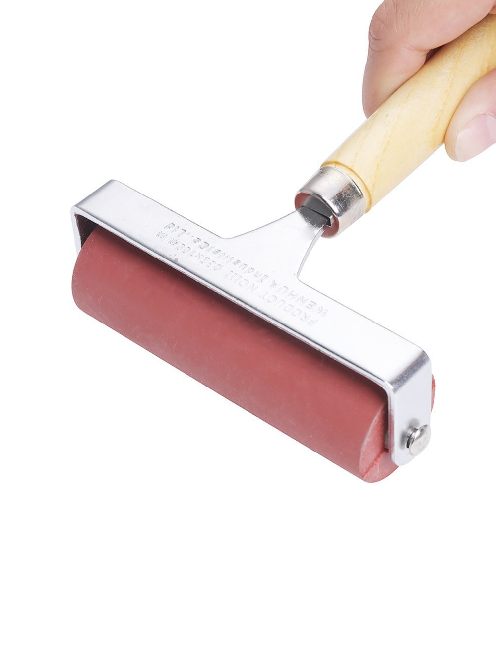 MEEDEN Hard Rubber Brayer Roller 4-inch for Printmaking Craft Projects by MEEDEN