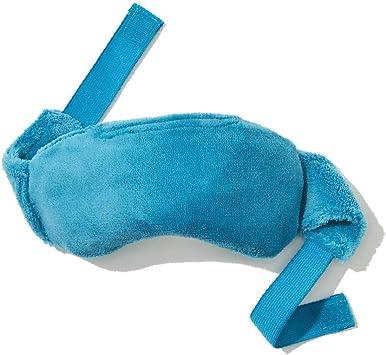 NatraCure - Mascarilla de almohada para ojos con peso para microondas para dolor sinusal y presión, migraña, ojos hinchados o hinchados, sueño o relajación (416SB-RET): Amazon.es: Salud y cuidado personal