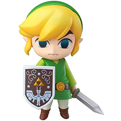 Good Smile The Legend of Zelda: Wind Waker Link Nendoroid Action Figure: Toys & Games