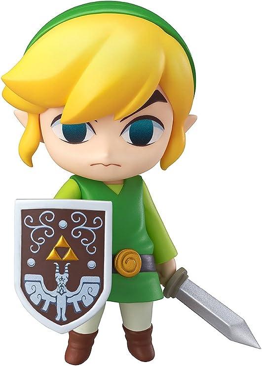 Legend of Zelda Link PVC Figures Cute Toys Face Changable Collection New