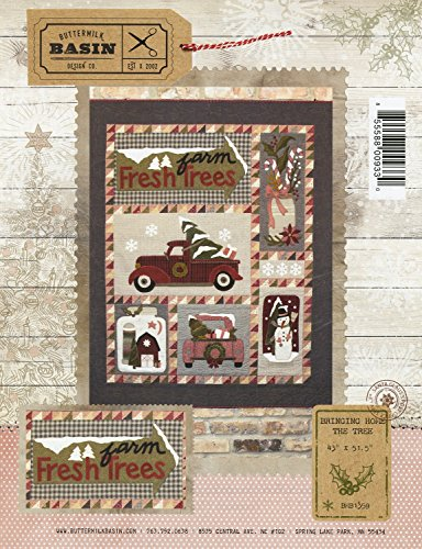Bringing Home the Tree Christmas Wall-hanging pattern - by Buttermilk Basin - 43