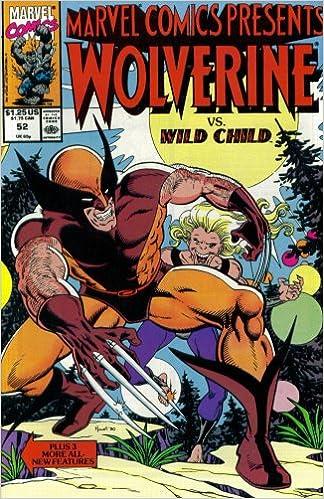 Marvel Comics Presents #52 : Wolverine, Comet Man, Rick Jones, & the Hulk (Marvel Comics)