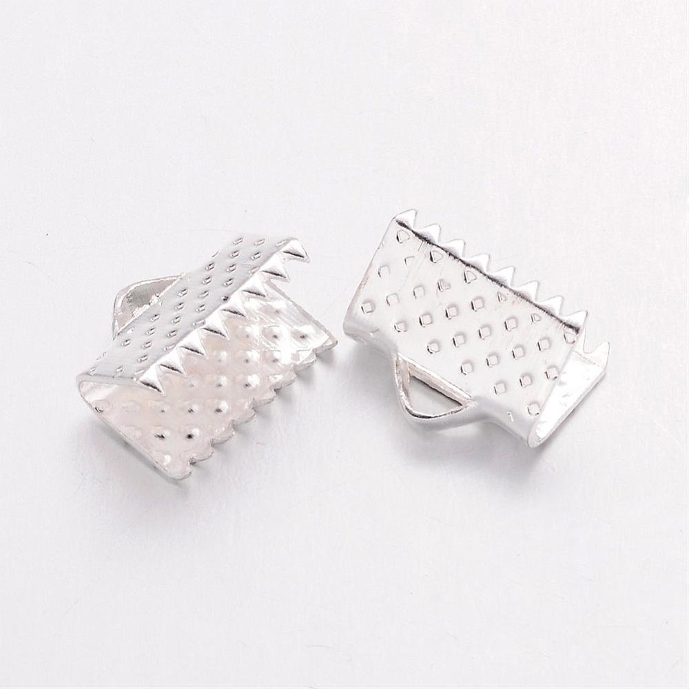 Chiusura Griffe senza piombo per collana o braccialetto colore argento chiaro lunghezza 10/mm 1/ /Set di 10/consegna gratuita