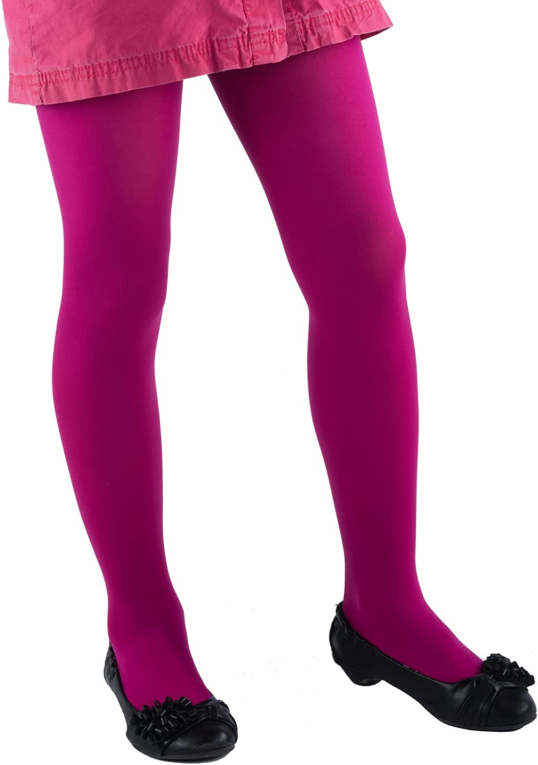13 Years Girls Tights School Uniform Microfibre 40 Wide Range Of Colours Sizes 3 Years