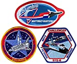 Patch Set Space Shuttle Mission STS-4 STS-5 STS-6