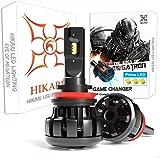 HIKARI Ultra H11 LED Bulbs, Prime ZES LED, 12000lm, High Lumens LED Conversion Kit, H9 Halogen bulbs Replacement, Canbus Read