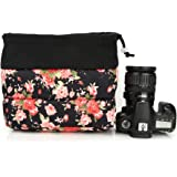 Koolertron Waterproof DSLR SLR Camera Insert Bag Camera Inner Case Bag for Sony, Canon, Nikon, Olympus (Black-07)