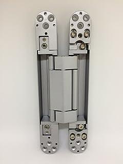 Ranbo 6 x 2.5 x 1 inch Zinc alloy/aluminum alloy material Heavy Duty Invisible & Sugatsune Heavy Duty Invisible Hinge up to 154 lb Door (1 Hinge ...