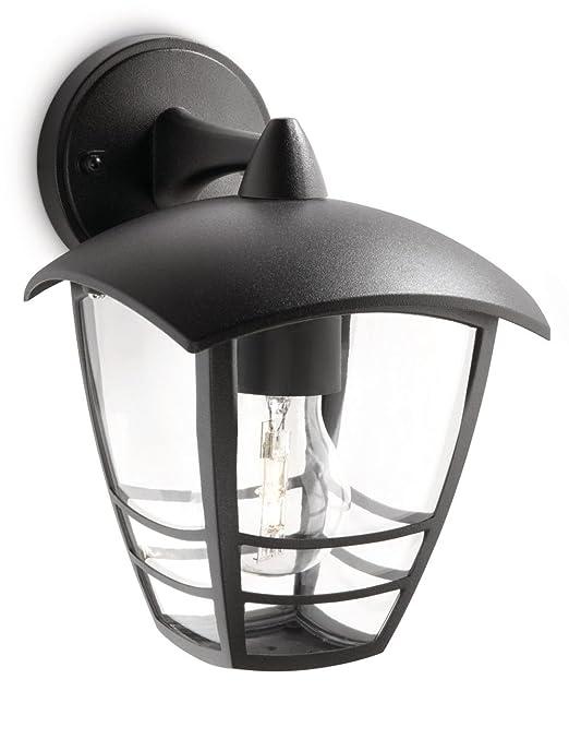 171 opinioni per Philips Creek Lampada da Parete da Esterno, Lanterna Down, Alluminio, Nero