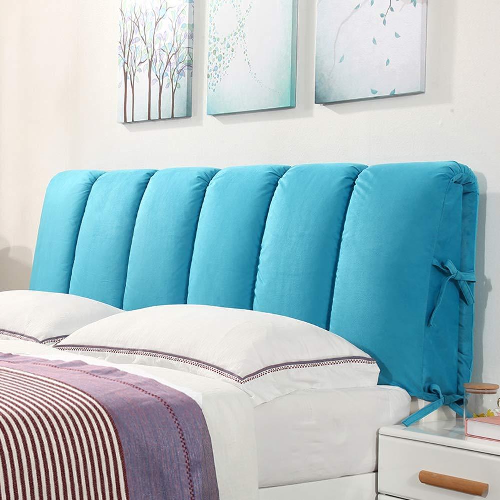 人気ブラドン ヘッドボードのクッション,背もたれを読んでください ブルー。 ウエスト B07KG837FD ツイン ヘッドボード サイズ,ソフトバッグ ウエスト バックを保護 畳 取り外し可能で洗える-グレー 150x60cm(59x24inch) B07KG837FD 90x50cm(35x20inch)|ブルー ブルー 90x50cm(35x20inch), 半紙屋e-shop:5570f7c9 --- svecha37.ru