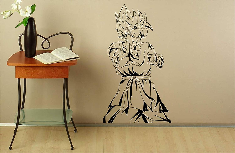 pegatinas de pared tortugas ninja Son Goku Tatuajes de pared Manga ...