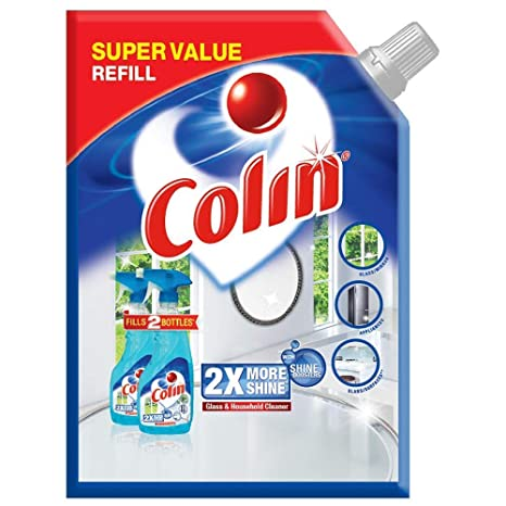 Colin�Glass and Surface Cleaner with Shine Boosters Refill, Regular - 1L