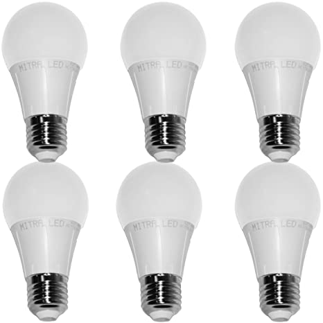 E27 Bombilla LED 650 lúmenes 7 W=aprox. 60 W forma de globo blanco