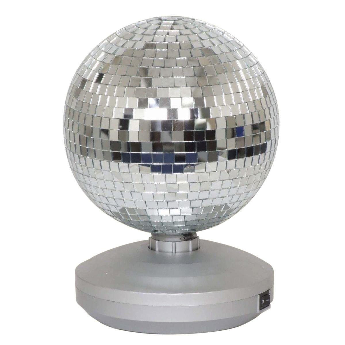8' Free Standing Mirror Ball Dance Party Set Cheetah G017KD