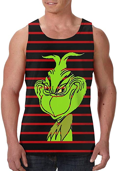 b6af86eee992eb Amazon.com: Grinch Stole Christmas Men's Graphics Tees Sport Gym ...