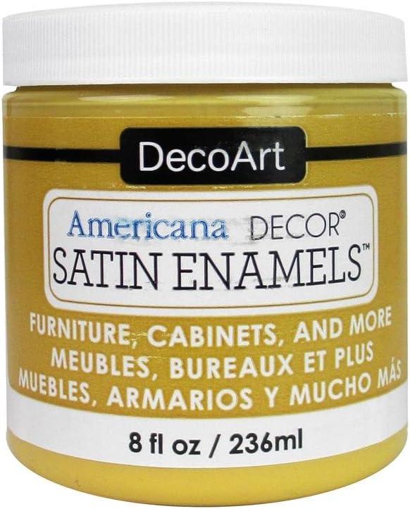 DecoArt DECADSA-36.8 Decor Satin Enamels Honeygld Americana Decor Satin Enamels 8oz Honeygld