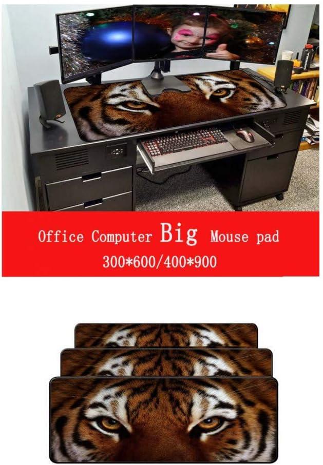WHFDSBDFace Keyboard Gaming Large Mousepads Office Mice Gamer Soft Locking Edge Mouse Pad Gamer