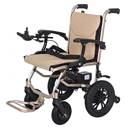Silla De Ruedas Plegable,Compacta Y De Movilidad con Sistema De Movilidad, Silla De