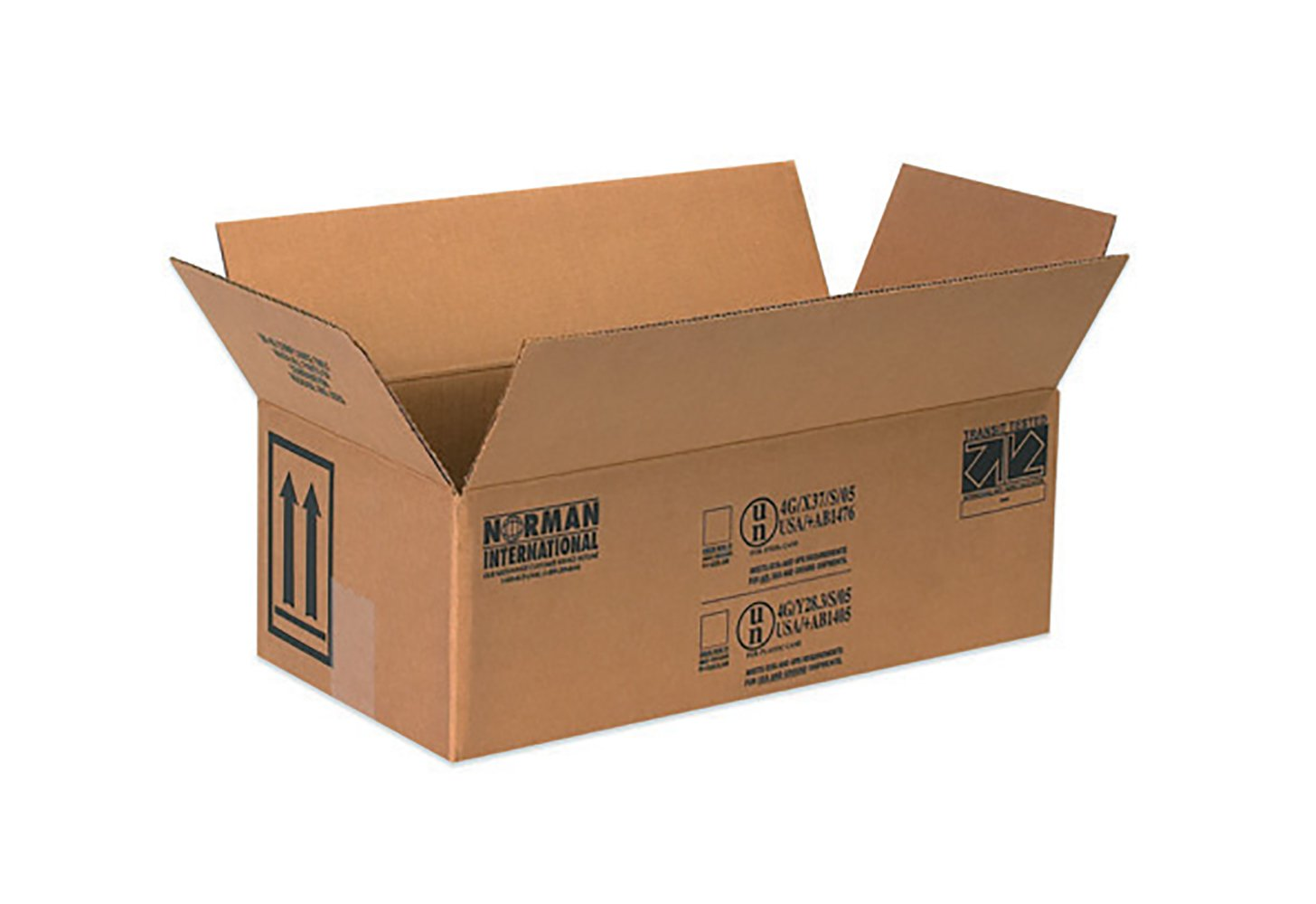 RetailSource B100506HM500 Hazmat Box, 6.1875'' Height, 5.125'' Width, 10.25'' Length, Brown (Pack of 500)