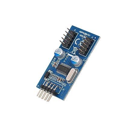 Festnight Motherboard USB Header USB Hub to 2 Male Adapter Card USB2 0 Dual  9Pin Connector Splitter USB Motherboard Header Adapter
