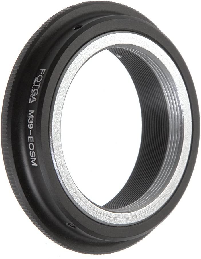 Lens Mount Adapter Adapter Ring for Leica M39 L39 Mount Lens to Canon EOS EF M M2 M3 Mirrorless Cameras