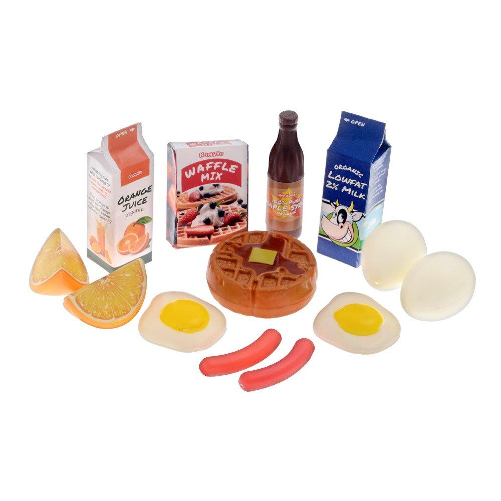 Amazon.com: Kangaroo Deluxe Pretend Food, 120 Piece Set: Toys & Games
