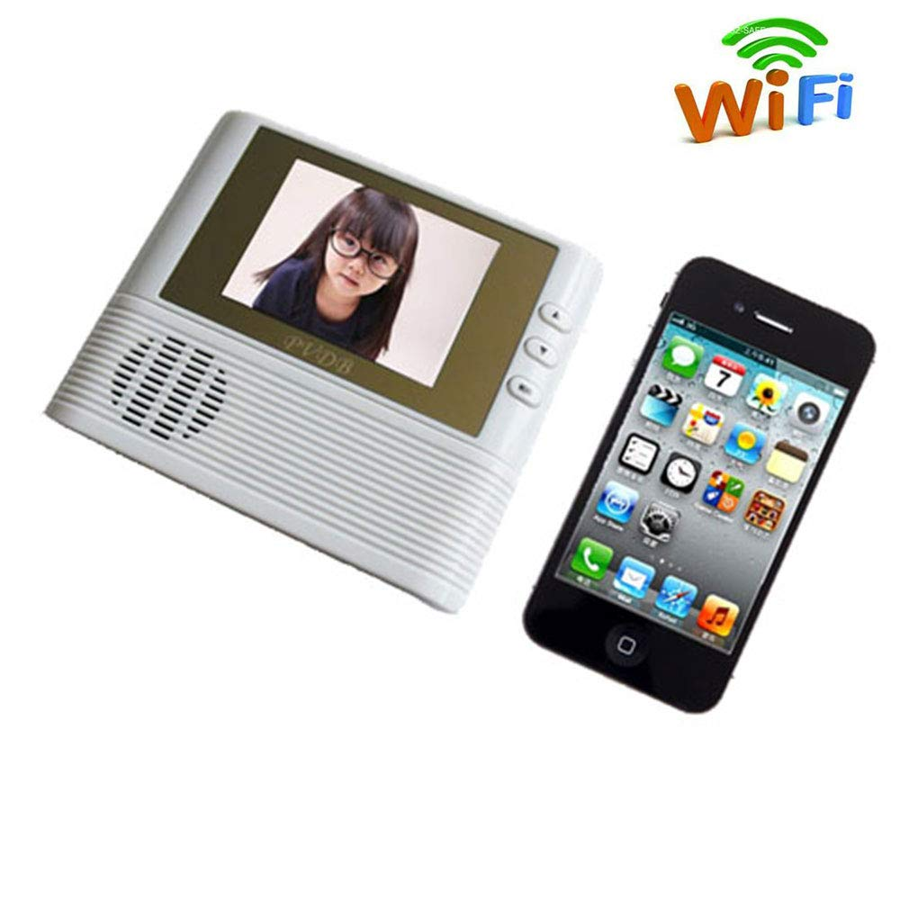 LMtt Video Doorbell, 2.8-inch home doorbell anti-theft smart home doorbell photo can be OEM, simple and safe operation