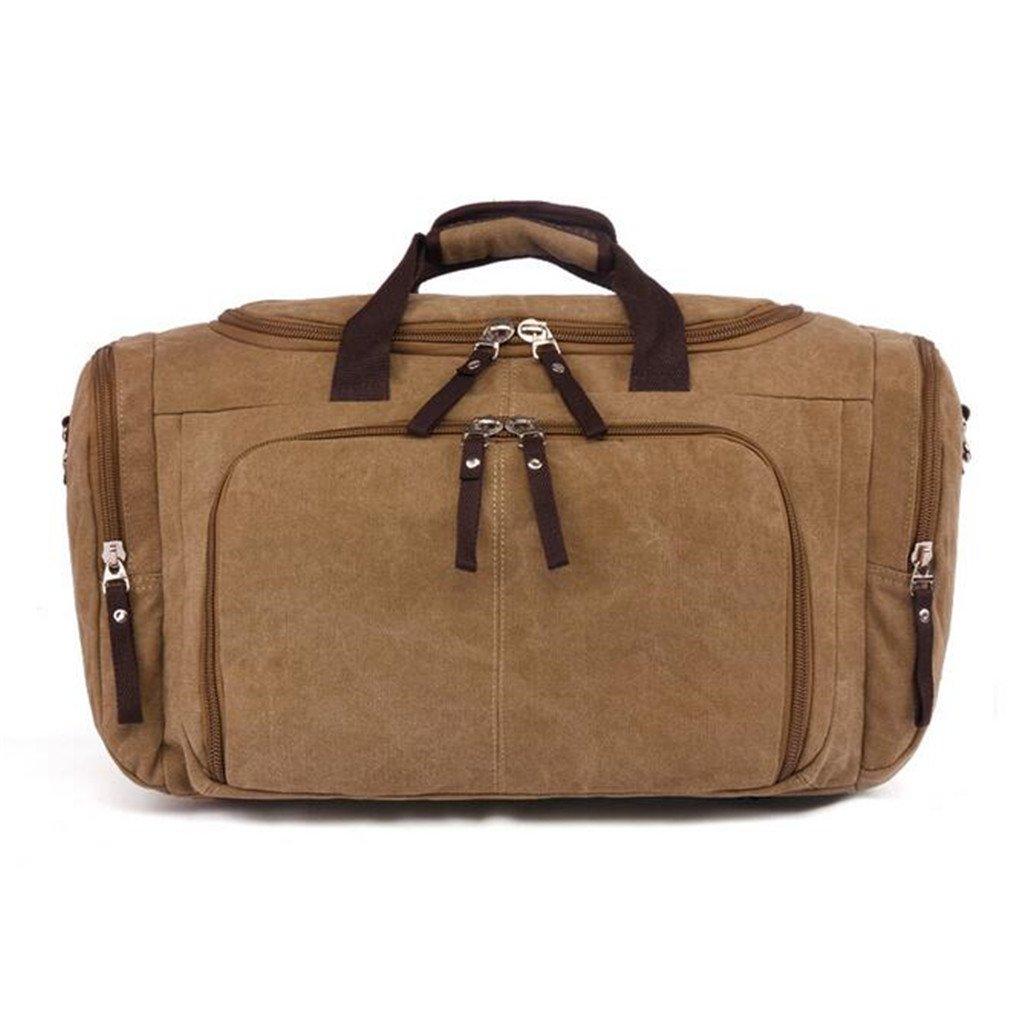 KEISHJD 070417 Men Large Tote Travel Bag Casual Canvas Bag