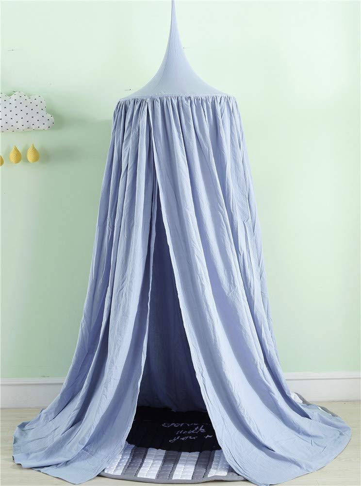 Blau Hayisugar Betthimmel f/ür Kinder Babys Bett Kuppel H/ängende Moskiton f/ür Schlafzimmer Kinderzimmer Lesen Zeit Spielzelte Deko S//200X280cm