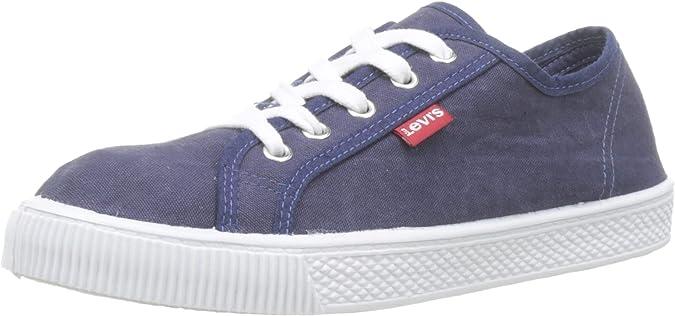 LEVIS FOOTWEAR AND ACCESSORIES Malibu Beach, Zapatillas para Hombre, Azul (Navy Blue 17), 39 EU: Amazon.es: Zapatos y complementos