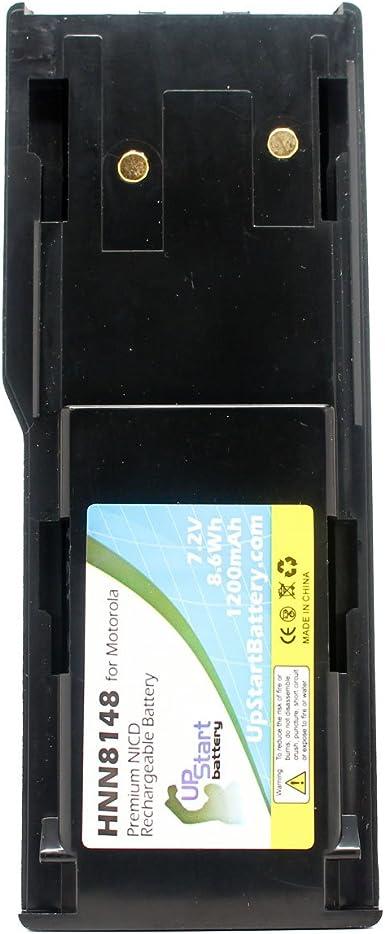 Replacement battery1200mAh Ni-CD Two-Way Radio Battery for Motorola RADIUS P1225