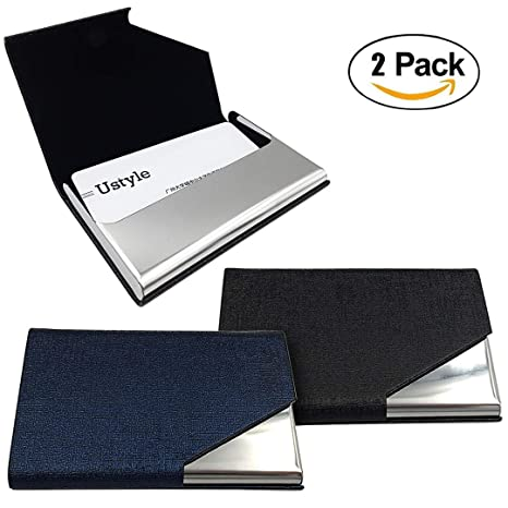 Amazon Fancer Business Card Holder Case Luxury Stainless