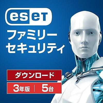 ESET ファミリー セキュリティ 3年版