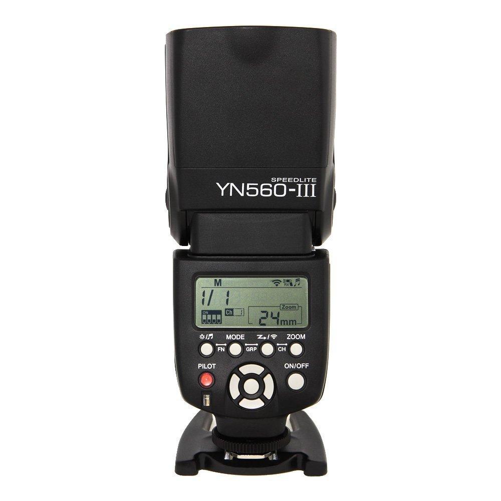 Yongnuo 1198321 YN560-III Wireless Flash Speedlite Support for Canon, Nikon, Pentax, Olympus by Yongnuo
