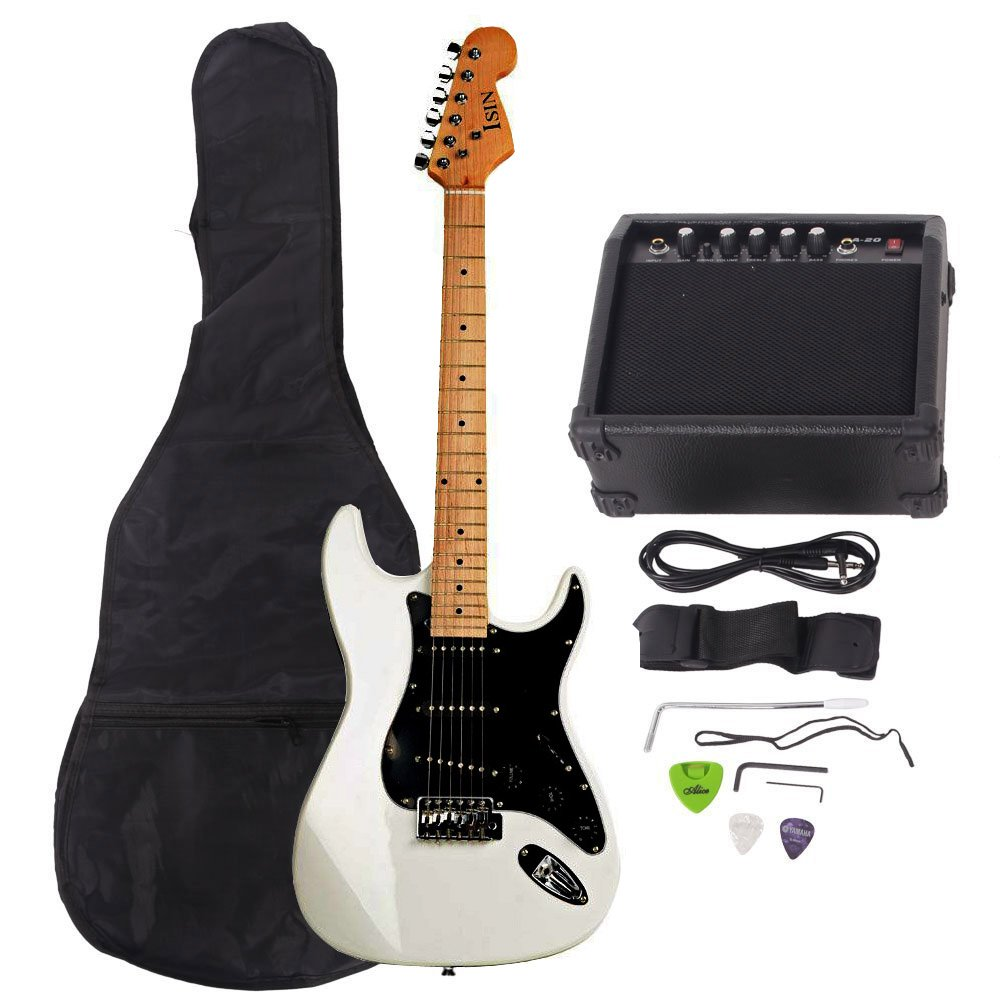 best rated in electric guitar beginner kits helpful customer reviews. Black Bedroom Furniture Sets. Home Design Ideas