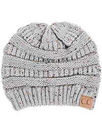 FUNKY JUNQUE's CC Confetti Knit Beanie - Thick Soft Warm...